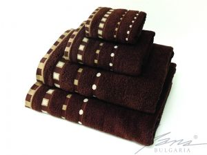 Microcotton towel Mishel brown