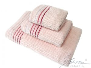 Microcotton towel B 584 Popcorn rose