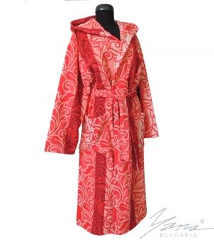 Teens' bathrobe T 088 coral