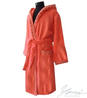 Adult bathrobe G232 coral