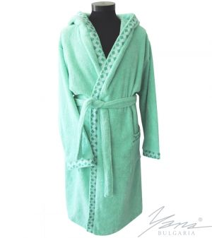 Adult bathrobe G232 mint