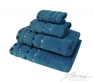 Microcotton towel Mishel petrol